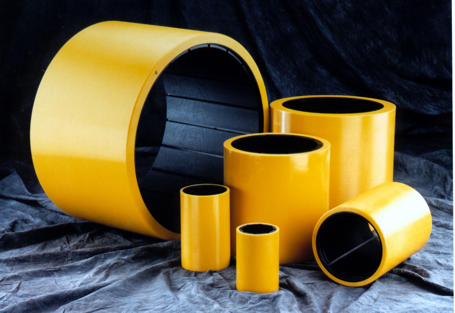 Composite pump bearings