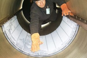 Thordon XL split propeller shaft bearings for US Coast Guard Polar Sea Icebreaker
